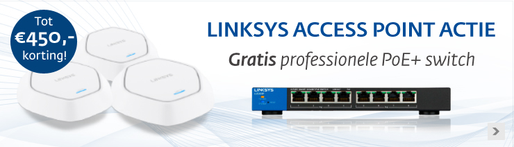 Linksys Access Point actie