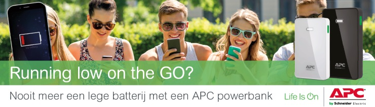 Go, APC powerbank