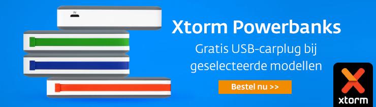 Xtorm Powerbank actie