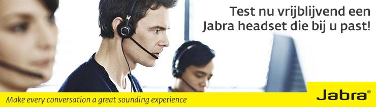 Test een Jabra headset