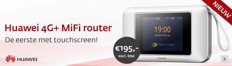 Huawei 4G+ MiFi router