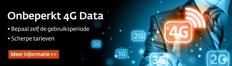 Onbeperkt 4G Data