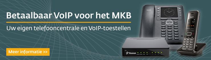 Betaalbaar VoIP voor MKB