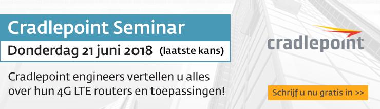 Cradlepoint seminar 21 juni