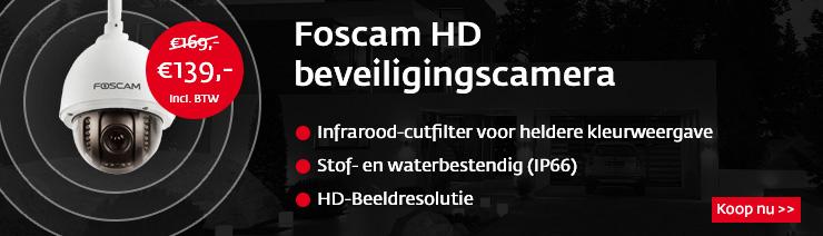 Foscam FI9828P actie