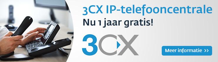 Gratis 3CX IP-telefooncentrale