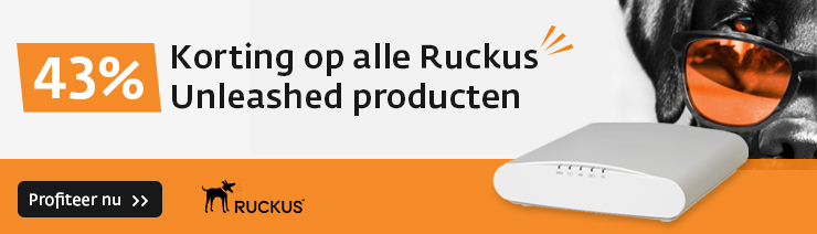 Ruckus Unleashed 43% Korting