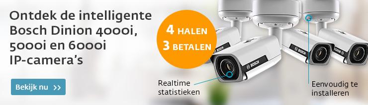 Bosch Camera Actie 4=3