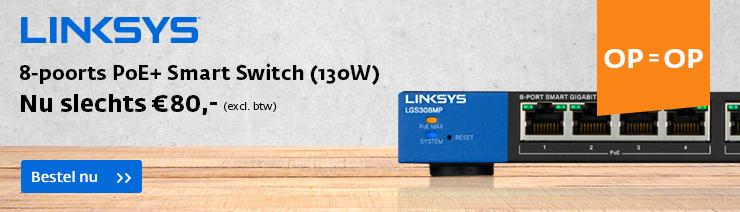 Linksys Switch €80,-