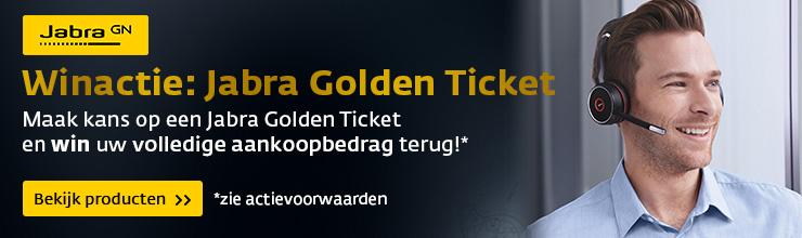 Jabra Golden Ticket Actie - win uw aankoopbedrag terug