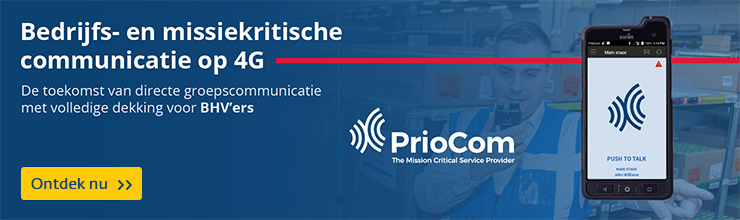 Priocom 4G communicatie