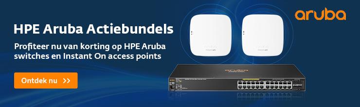 HPE Aruba Actiebundels