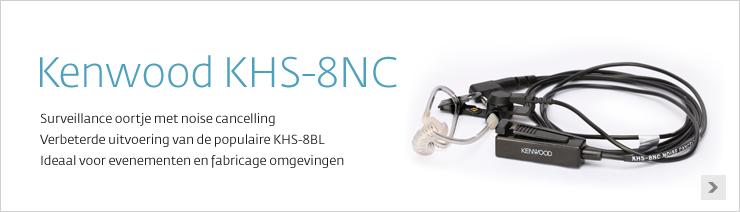 Kenwood KHS-8NC surveillance oortje
