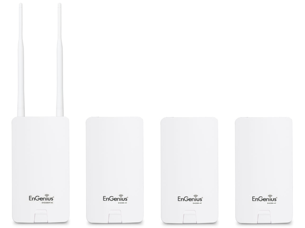 EnGenius ENS500EXT-AC + 3x ENS500-AC point-to-multipoint bundel