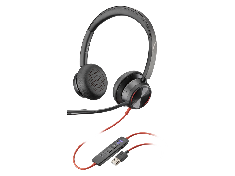 Poly Blackwire 8225 USB-A Teams headset