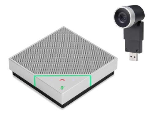 Polycom Eagle Eye Mini en Voxbox bij KommaGo
