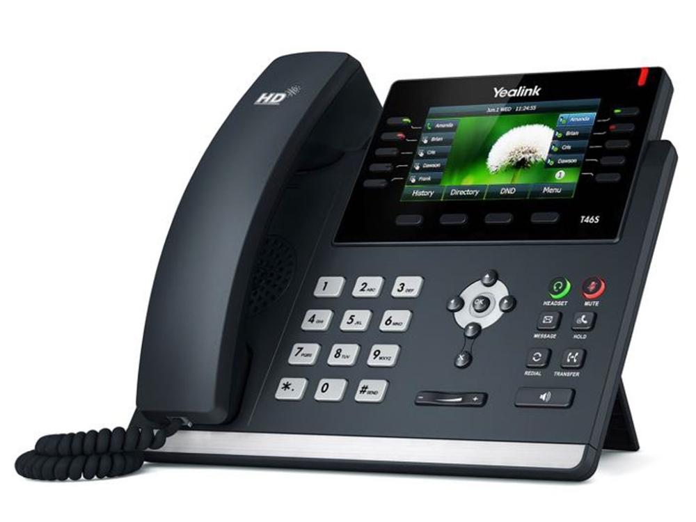 Afbeeldingsresultaat voor Yealink SIP-T46S Phone