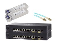 Cisco SG350-10P Duo Fiber Pack image