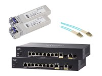Cisco SG350-10 Duo Fiber Pack image