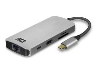 ACT USB-C 4K Multiport Dock image