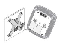 Alcatel-Lucent mounting Kit (zwart) image