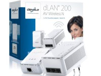 Devolo dLAN 200 AV Wireless-N 200Mbps Starter kit (set van twee stuks) image
