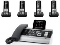 Gigaset DX800A met 4 Gigaset S510H handsets image
