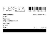 Flexeria Code Organisatiebeheer image