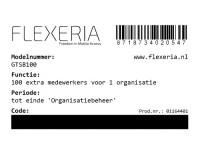 Flexeria Code 100 sleutels image