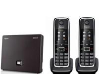 Gigaset N300A IP met 2 C530H handsets image