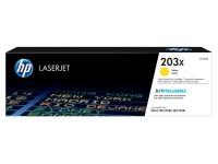 HP 203X LaserJet Toner Geel image