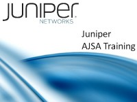 Juniper AJSA Training image