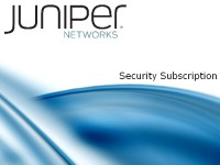 Juniper Security Subscription image