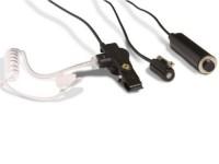 3draads oortje met microfoon KHS-9BL voor Kenwood Portofoons image