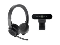 Logitech Zone Wireless + Brio