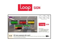 LoopSign - 1 jaar/1 display