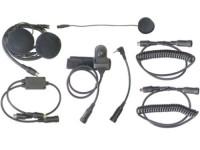 demo - Motocomm gesloten motorhelm headset met PTT voor Motorola TLKR portofoons image