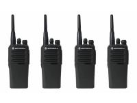 Motorola DP1400 UHF 4-pack