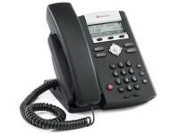 Polycom SoundPoint IP 331 VoiP Telefoon Voor 2 lijnen met PoE en 2 x LAN