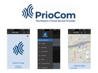PrioCom PTT-applicatie en simkaart