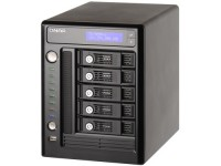 QNAP TS-509 Pro,  5-bay 3.5 SATA, All-In-One NAS Server with Windows AD Service Support,  2x GigaLAN