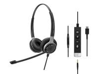 Sennheiser SC 665 USB-C duo headset image