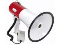 Skytronic megafoon 30 Watt met sirene en aparte handmicrofoon image