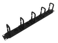 WP Rack Rangeerpaneel plastic 1U
