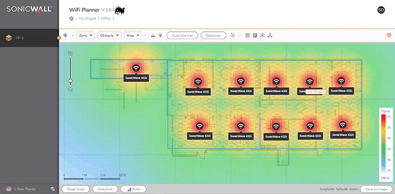 SonicWall WiFi Planner
