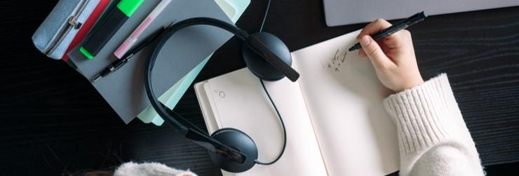 Headsets per omgeving