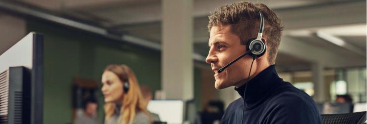 Headsets voor kantoor
