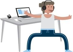 Probeer gratis een draadloze Sennheiser headset!