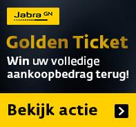Jabra Golden Ticket Actie: win uw Jabra aankoopbedrag retour