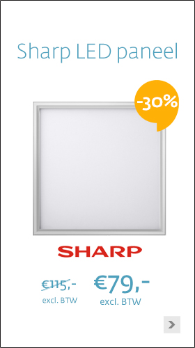 Sharp LED paneel